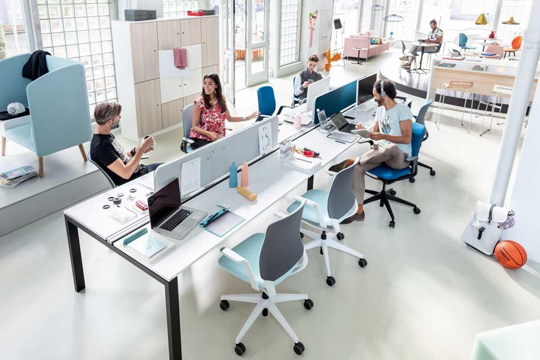 Spezialisten für Einrichtung und Entwicklung von Arbeitsplätzen und Bürowelten